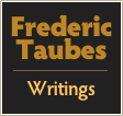 Frederic Taubes  Writings